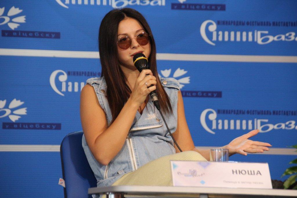 Нюша: «Мой новый альбом в процессе работы»