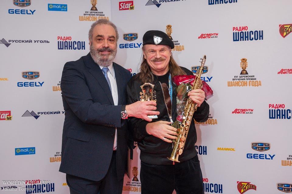 Премия Шансон года прогремела в Кремле