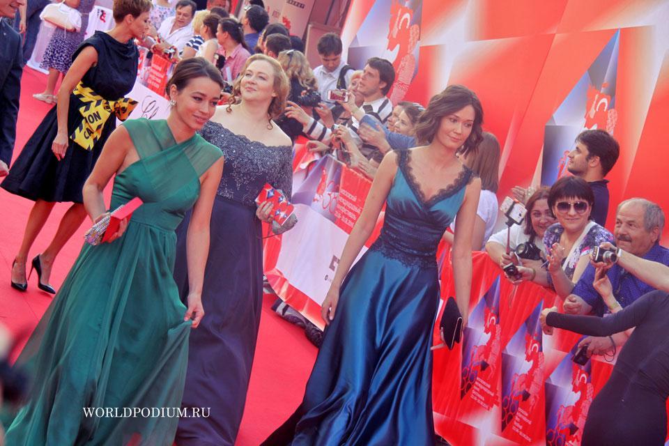 Торжественное открытие 38-го Московского международного кинофестиваля! Часть 1