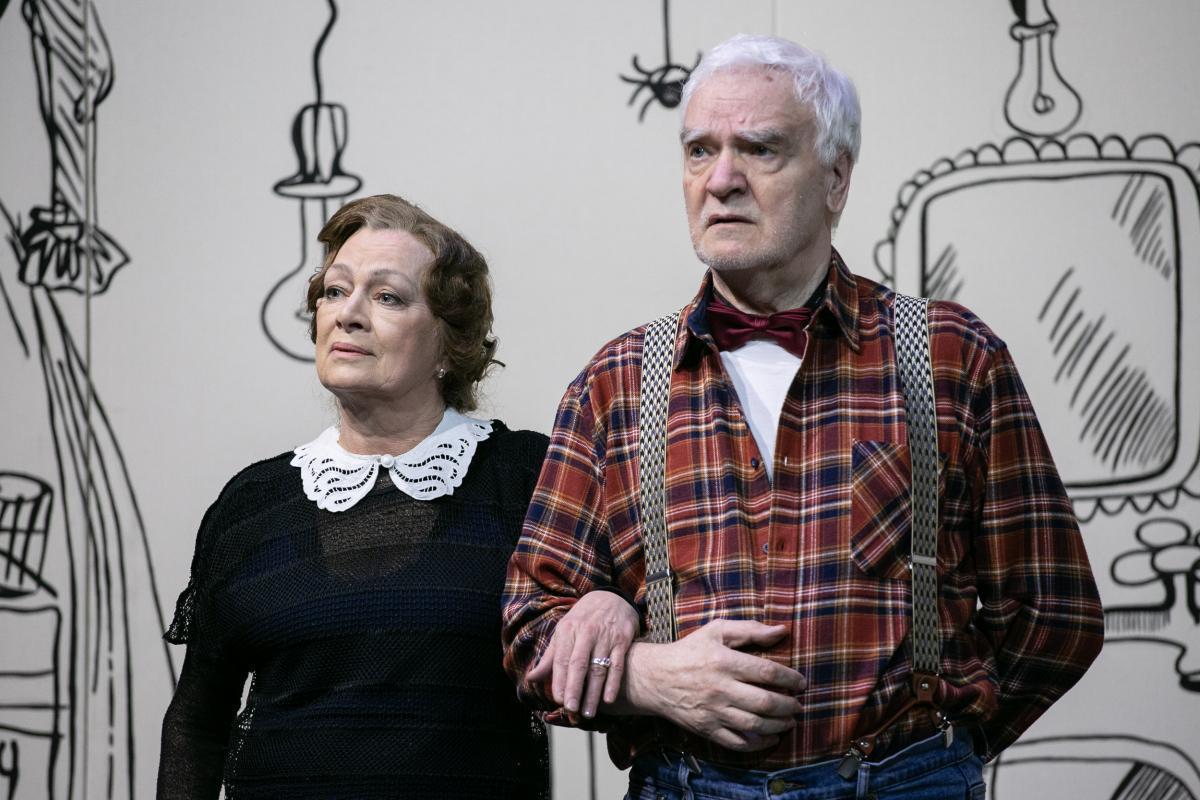 Премьера спектакля «Игра в джин» на сцене Театра им.Ленсовета