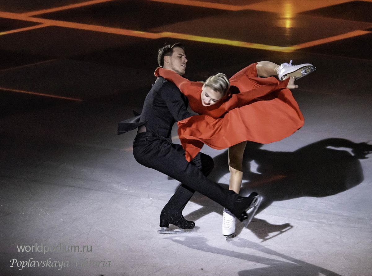 Виктория Синицина и Никита Кацалапов выиграли золото на этапе Гран-при в Китае