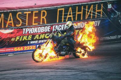 Шоу каскадёров «Русский Форсаж» пройдёт 7 мая