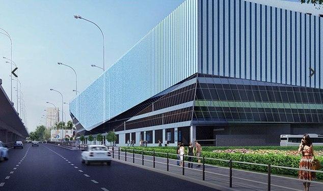 В Москве построят стеклянный автовокзал-корабль с кинотеатром
