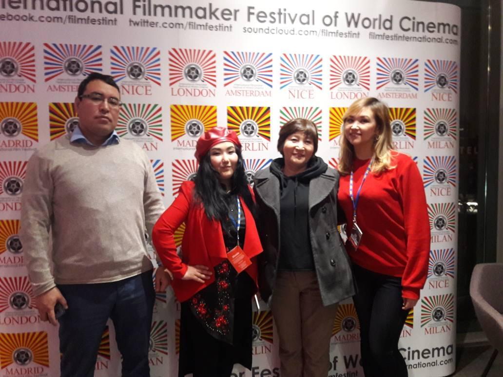 В Лондоне прошел показ фильма режиссера из Киргизии