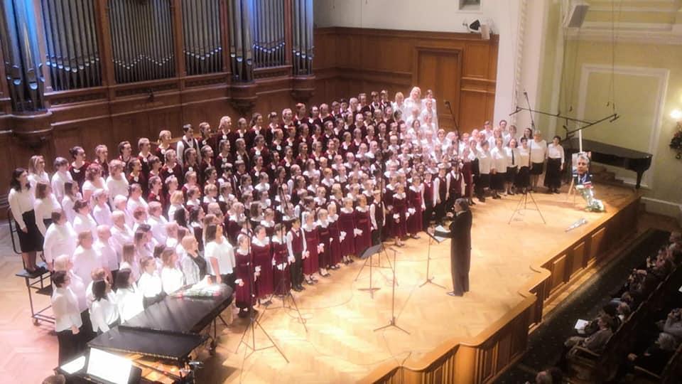 Большому детскому хору – 50 лет!