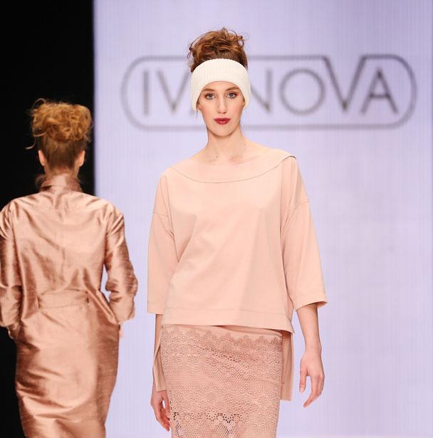 Неделя моды -день Первый: КОЛЛЕКЦИЯ «ПАДАЯ В НЕБО» от  IVANOVA