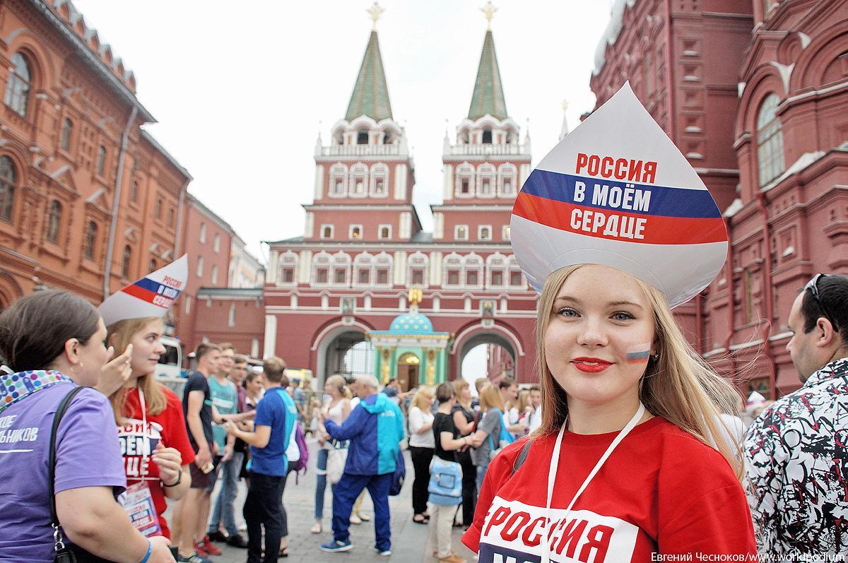 Концерт «Россия в моём сердце» прошёл на Манежной площади