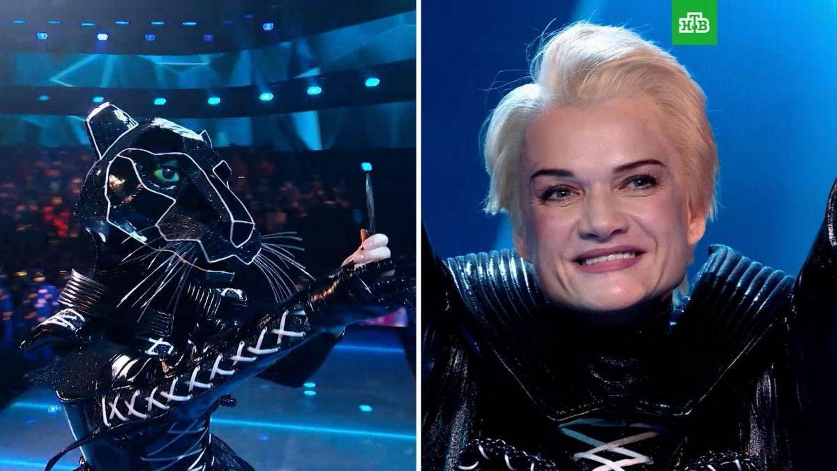 Первое разоблачение нового сезона шоу «Маска»: Чёрной Пантерой оказалась Светлана Хоркина
