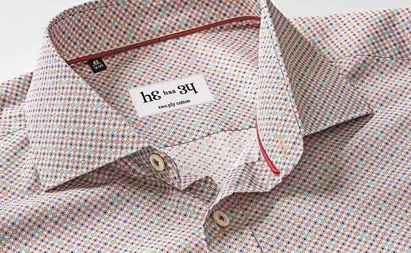 В Москве откроется первый магазин нового российского бренда мужских сорочек He has 34