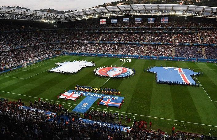 Сборная Исландии победила команду Англии и вышла в 1/4 финала ЧЕ по футболу