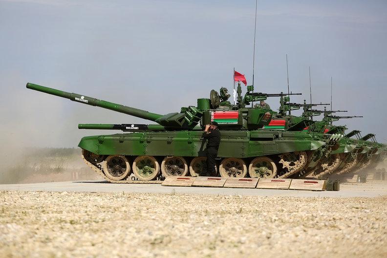 В соревнованиях по танковому биатлону в России  сразятся команды из 23 стран