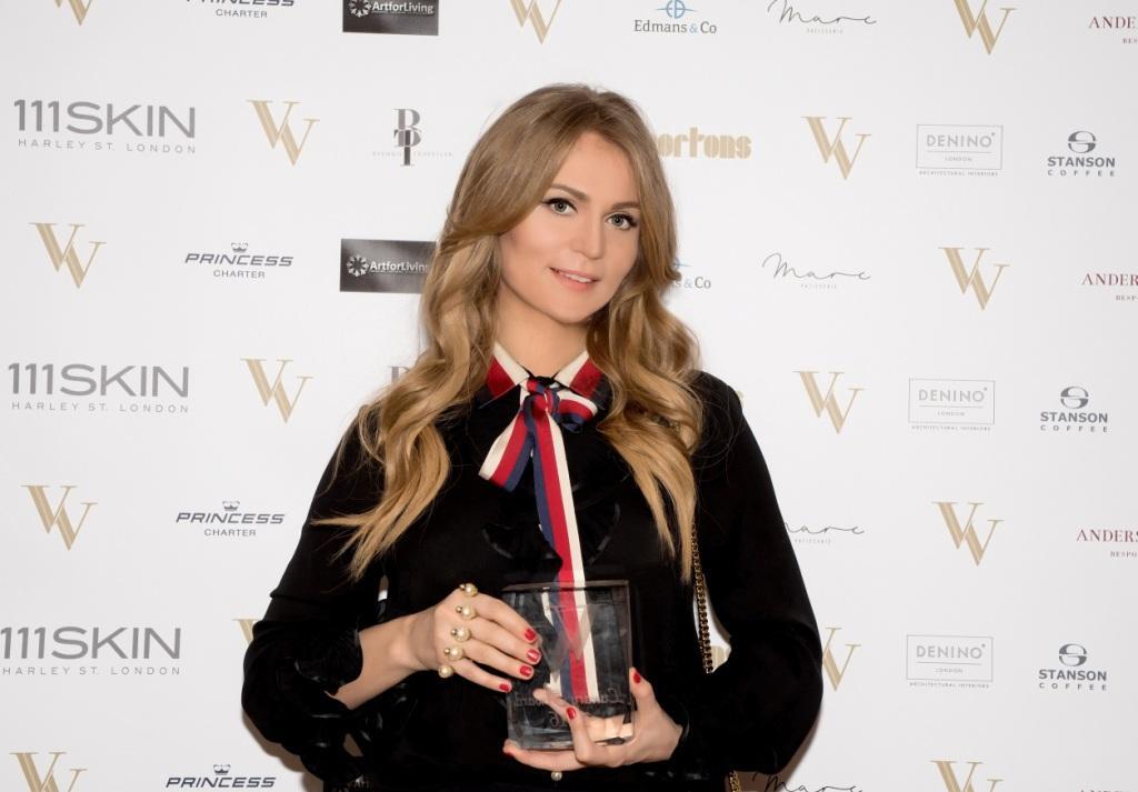 Российский художник Ольга Ломака получила премию в номинации «Лучший современный художник» в Лондоне