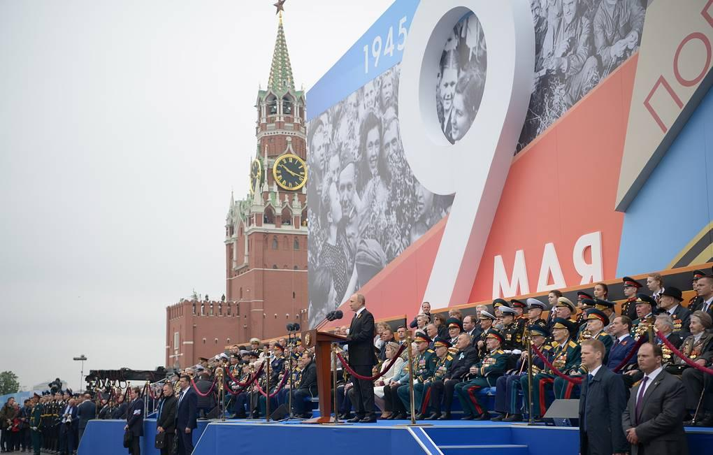 Видео юбилейного Парада Победы и История Парадов: с 1945 года до наших дней