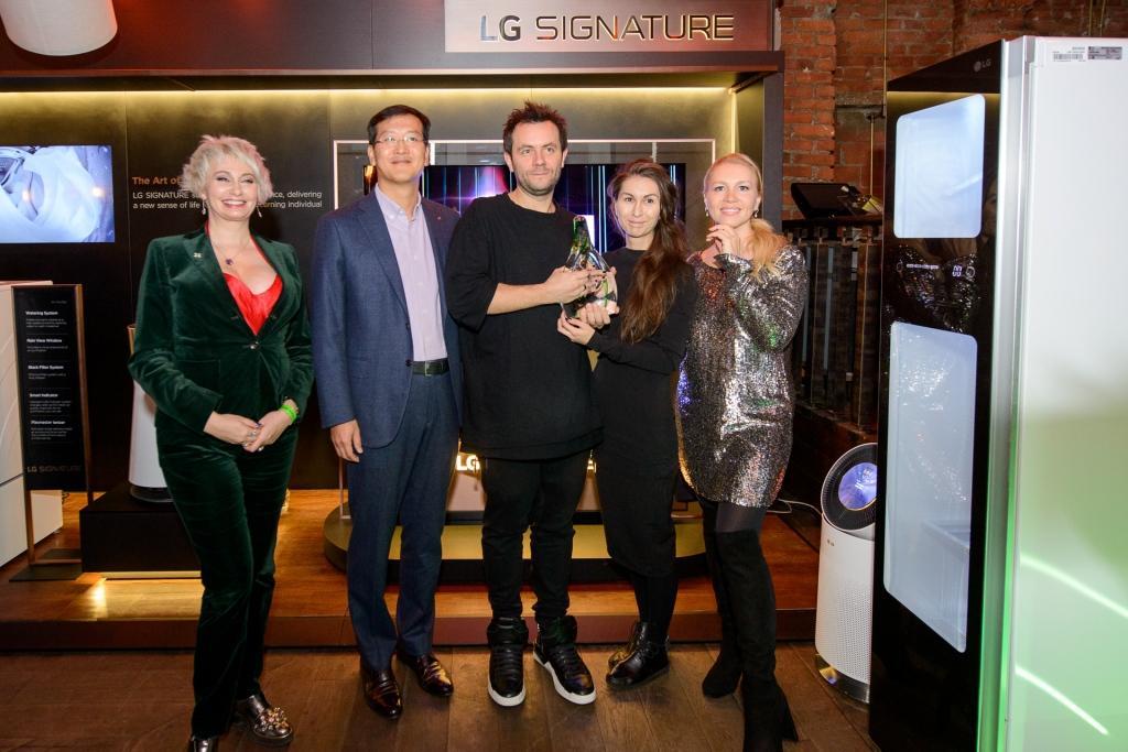 LG SIGNATURE наградил победителя в номинации «Инновационные технологии в современном интерьере»