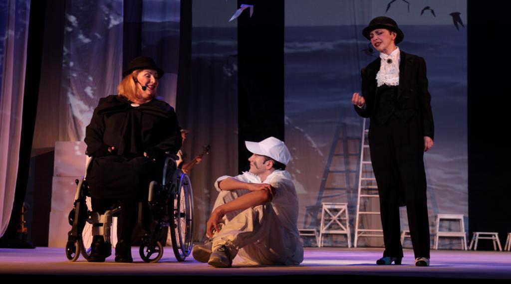 Тяжелобольные дети сыграют в спектакле «Чайка по имени...»