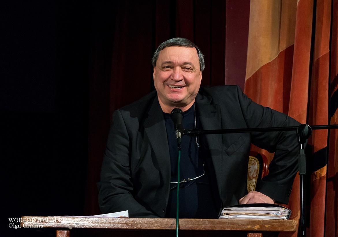 В ЦДРИ прошел юбилейный вечер Владимира Мукусева
