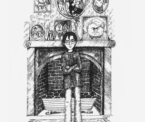 Роулинг показала свои иллюстрации к «Гарри Поттеру»