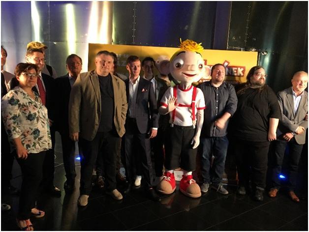 Мировая премьера мультфильма «Гурвинек и волшебный музей» состоялась в Праге