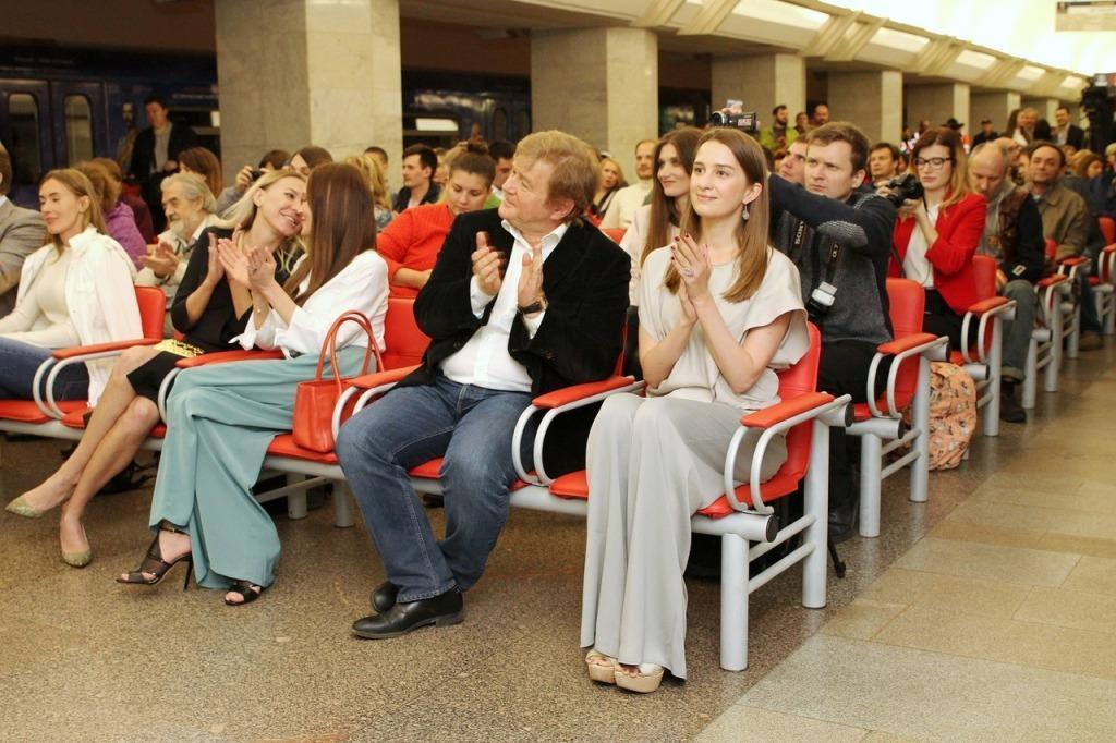 В московском метро прошла премьера фильма Дмитрия Светозарова «Тень»