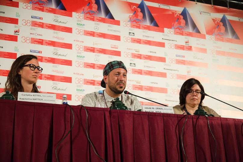 Отчет о пресс-конференции по фильму «Центр моего мира»
