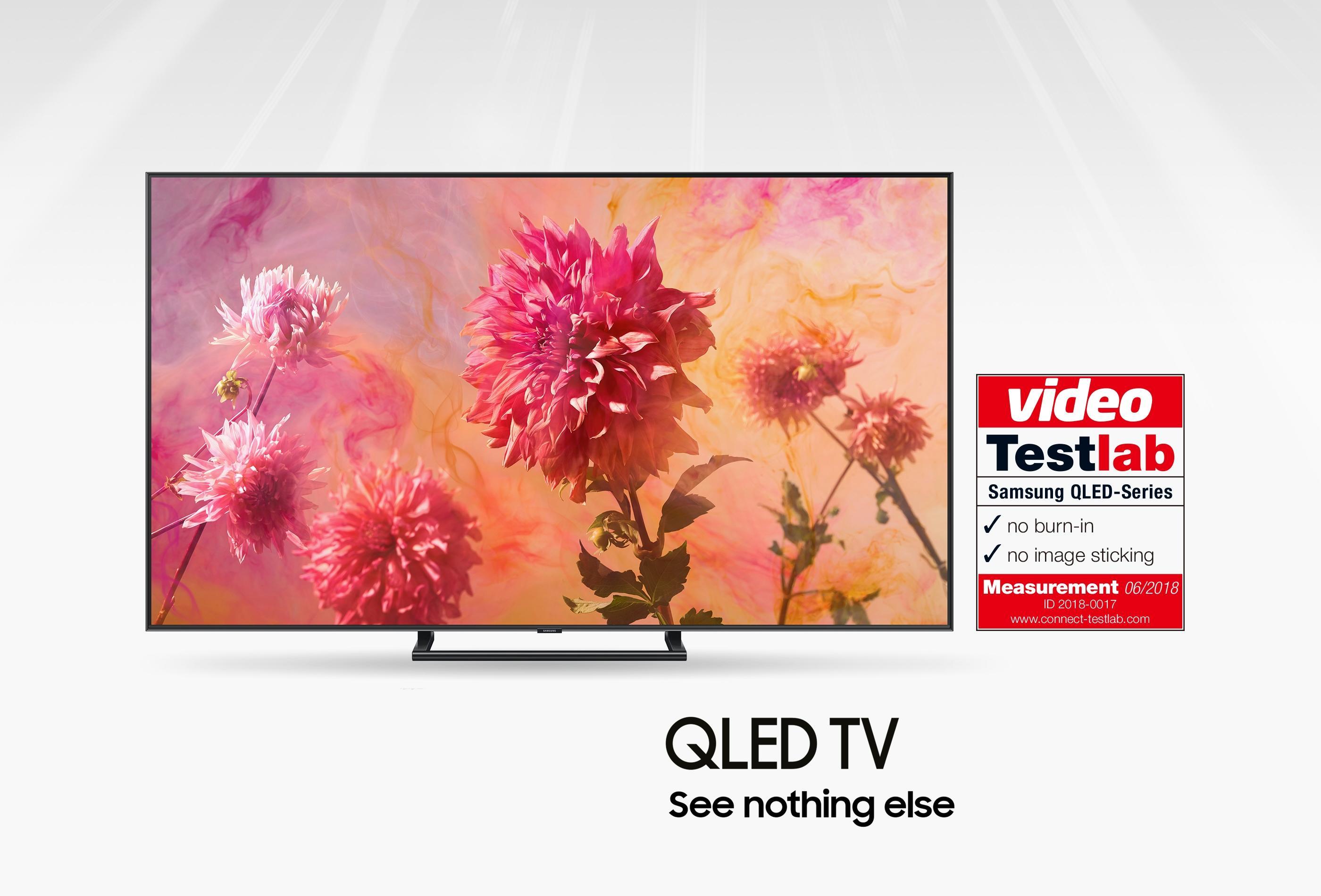 QLED-телевизоры Samsung прошли сертификацию Testlab