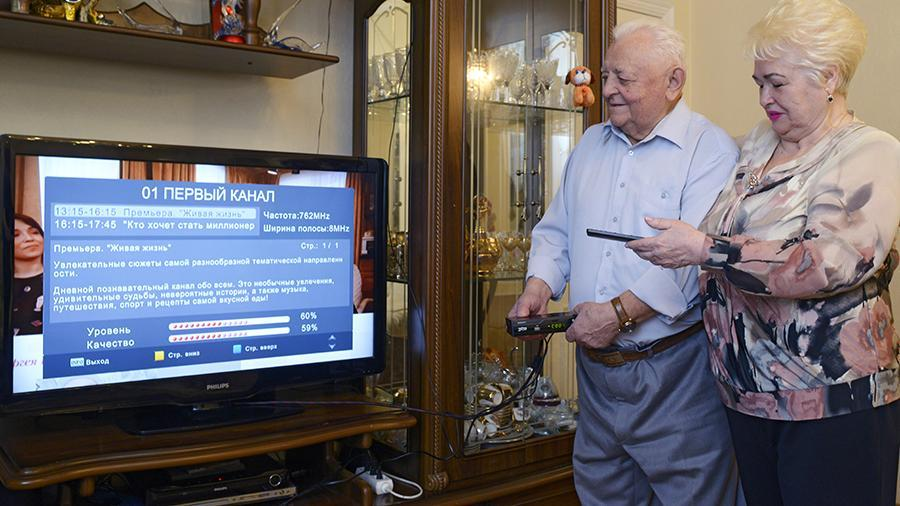 Семь регионов России перешли на цифровое телевидение
