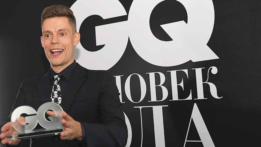 Юрий Дудь получил премию GQ «Человек года»