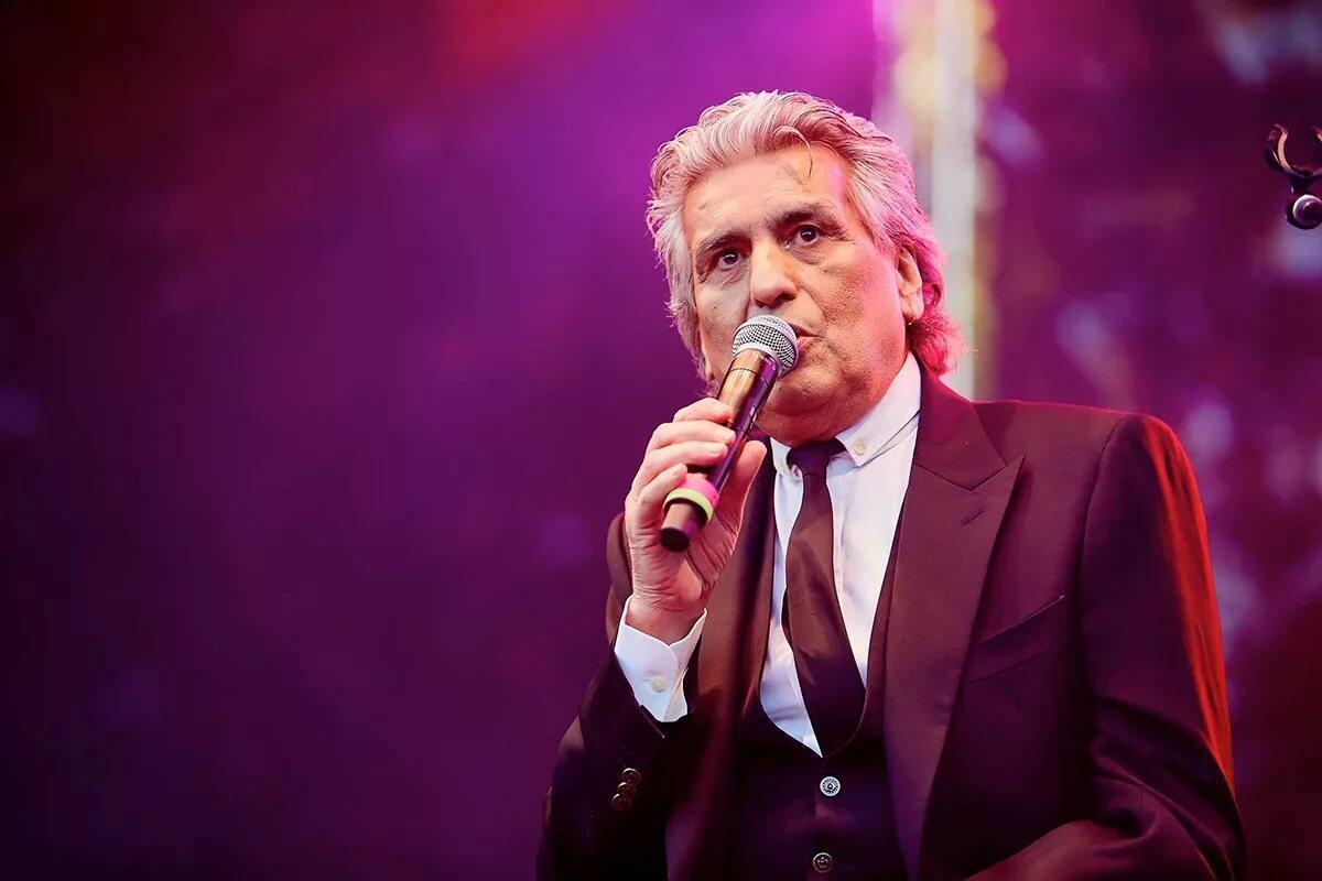 Тото Кутуньо перенёс апрельский концерт в Москве на ноябрь 2020