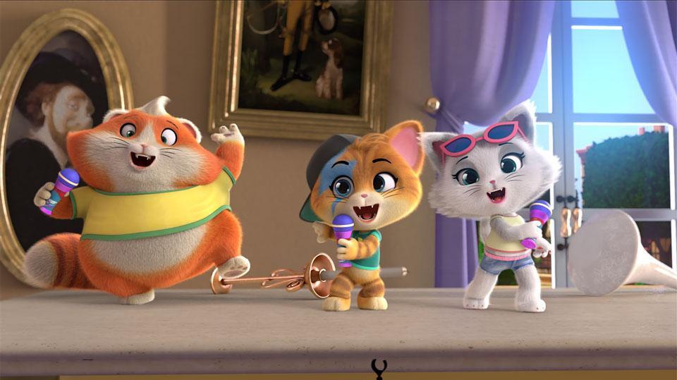 Премьера анимационного хита «44 котёнка» — эксклюзивно в сети «КАРО»