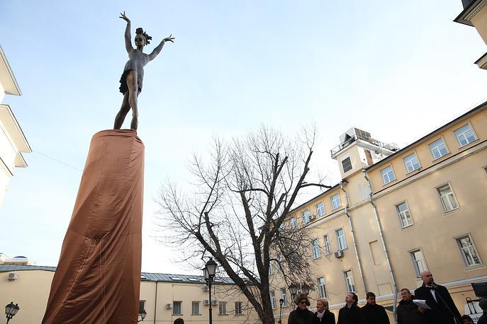 Щедрин: сквер Майи Плисецкой в Москве должен стать местом встречи влюбленных пар