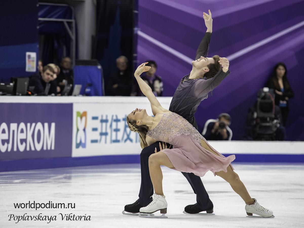 Виктория Синицина и Никита Кацалапов выиграли Чемпионат России по фигурному катанию