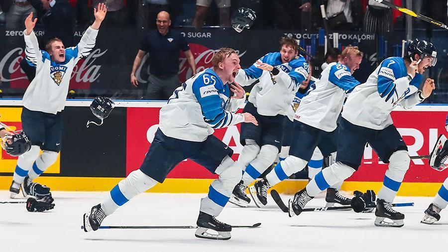 Сборная Финляндии выиграла чемпионат мира по хоккею
