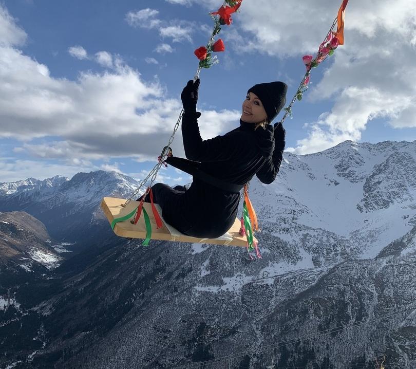 Ирина Сашина совершила гастрономический тур на Кавказ