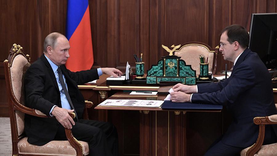 Мединский рассказал Путину о сборах российского кино