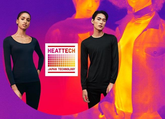 UNIQLO обменяет обычные футболки на инновационные модели HEATTECH