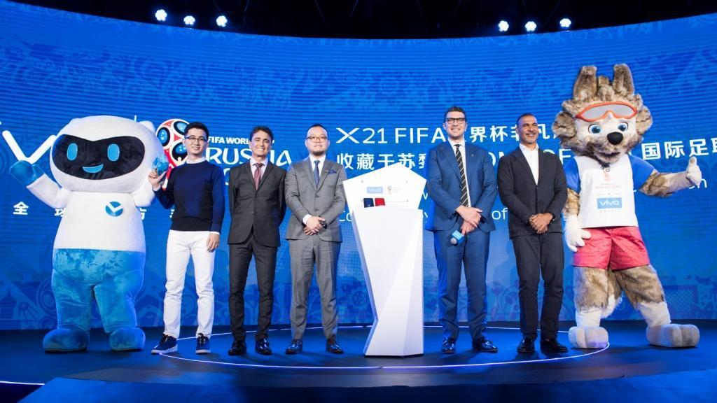 Vivo объявляет о старте компании «Мой момент, мой Чемпионат мира по футболу FIFA»