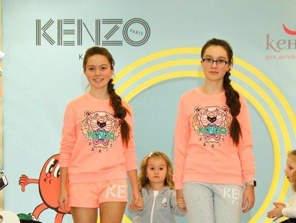 Презентация новой коллекции Kenzo Kids весна-лето 2018 в «Кенгуру»