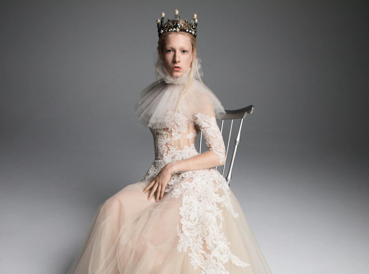 Королевская коллекция свадебных платьев Vera Wang