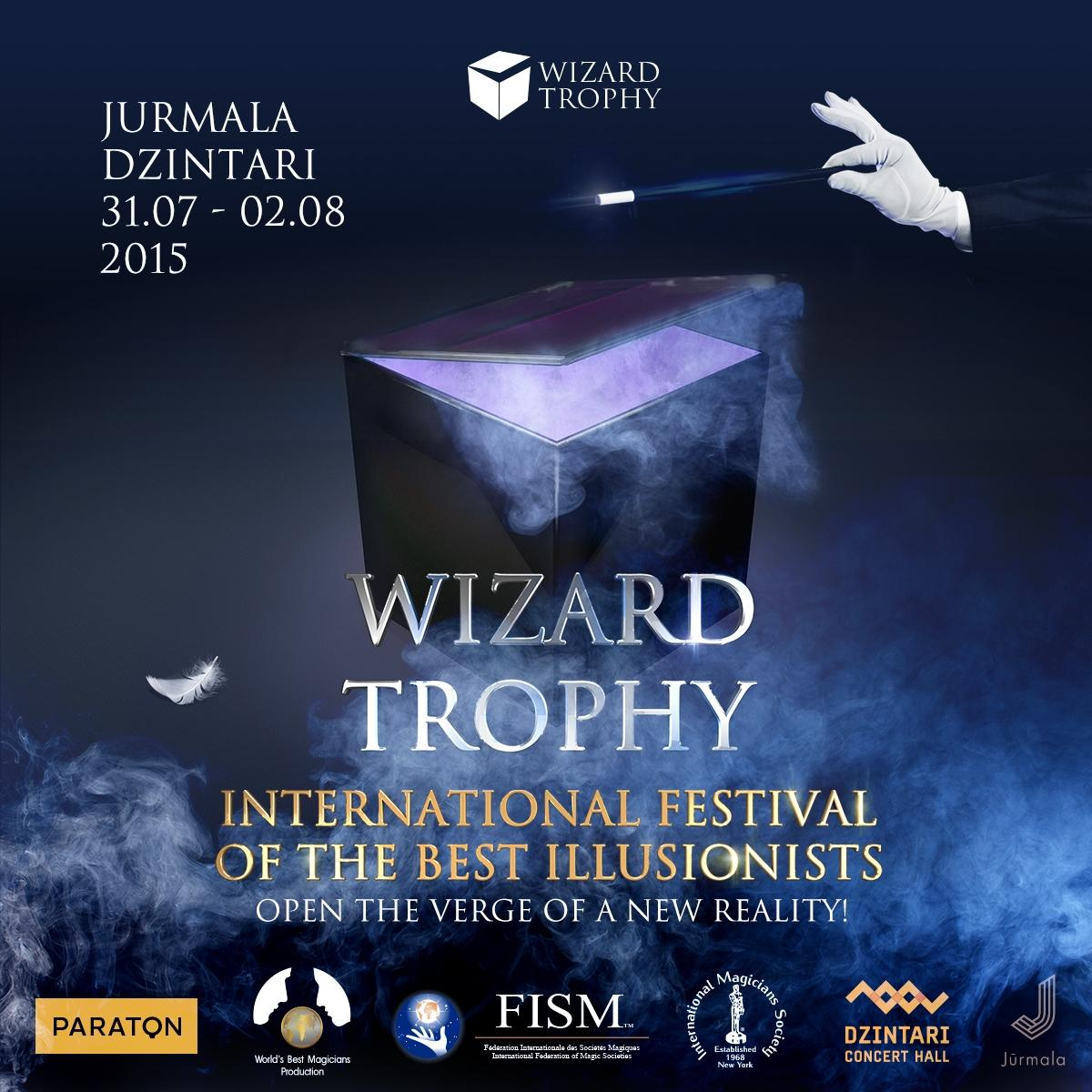 WIZARD TROPHY OR CUBED MAGIC