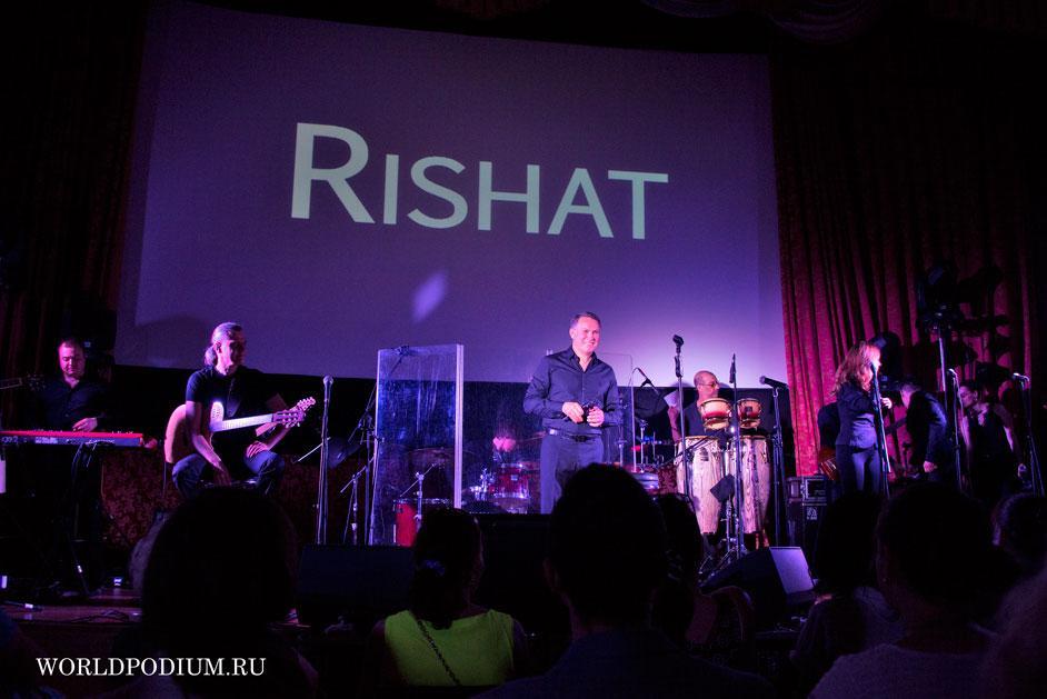 Новая встреча, новые знакомства. Концерт Rishat`a в КЦ «Москвич» прошел «на ура»