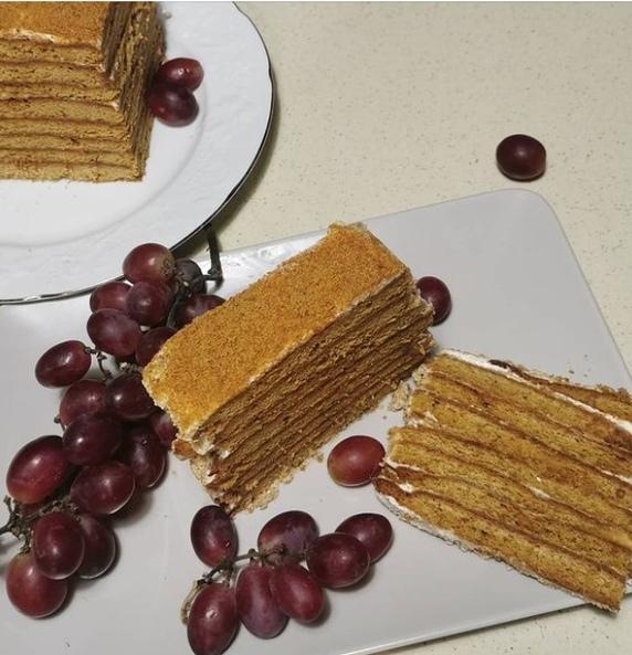 Торт- медовик от Наталии Антоновой