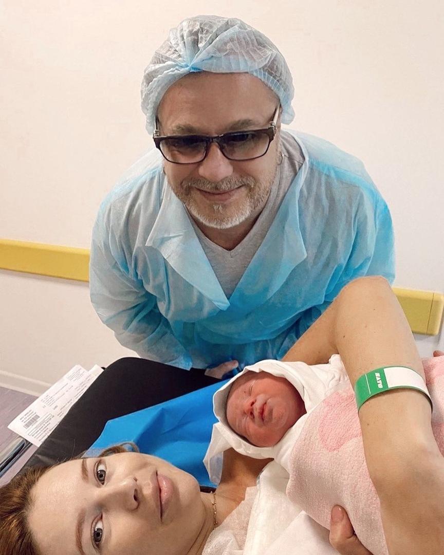 Владимир Пресняков и Наталья Подольская во второй раз стали родителями