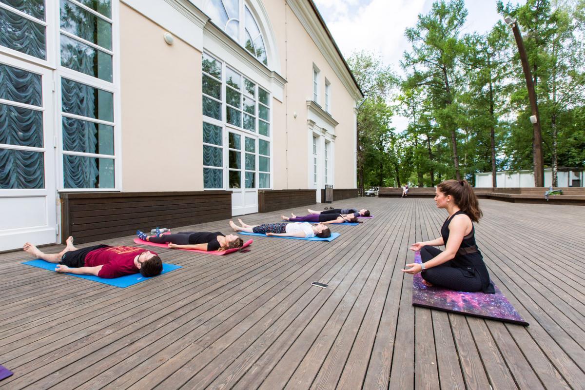 ВДНХ приглашает на занятия по хатха-йоге