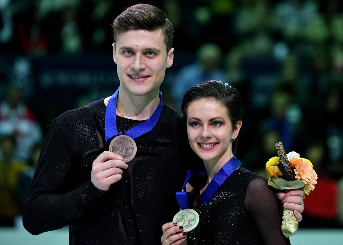 Спортивная пара Наталья Забияко/Александр Энберт завершили карьеру.