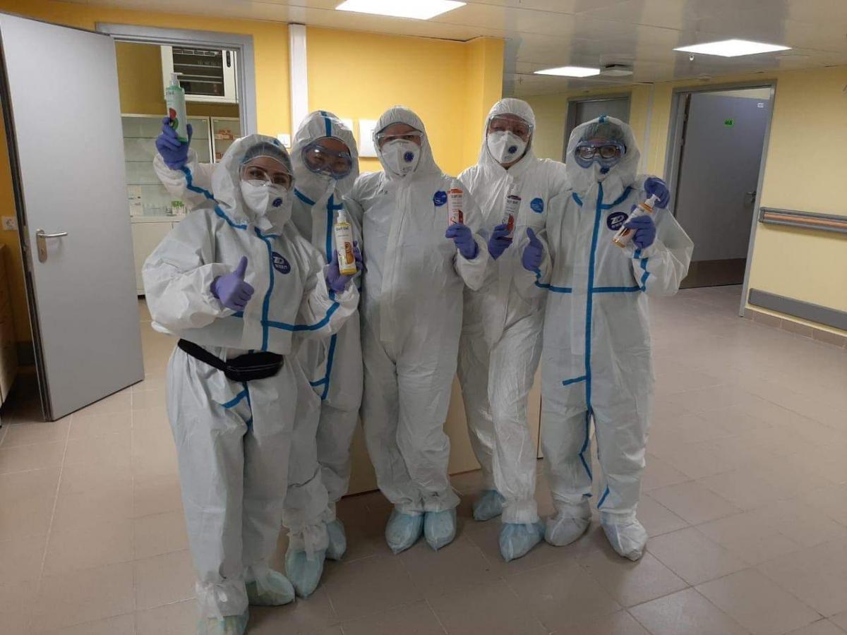 Компания «Аравия» оказала поддержку врачам и медицинским работникам Москвы