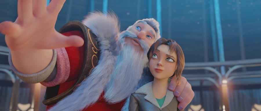 Рождественская анимация «Эллиот»