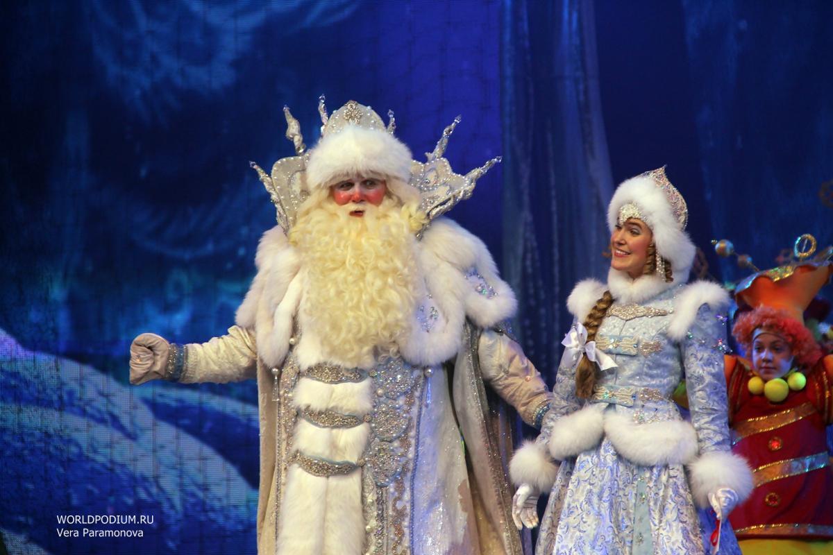 """Новогоднее  представление в Кремле """"Письмо Деду Морозу"""""""
